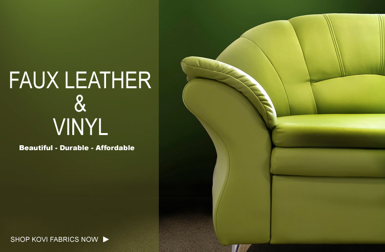 Faux Leather Vinyl Fabrics Kovifabrics Com