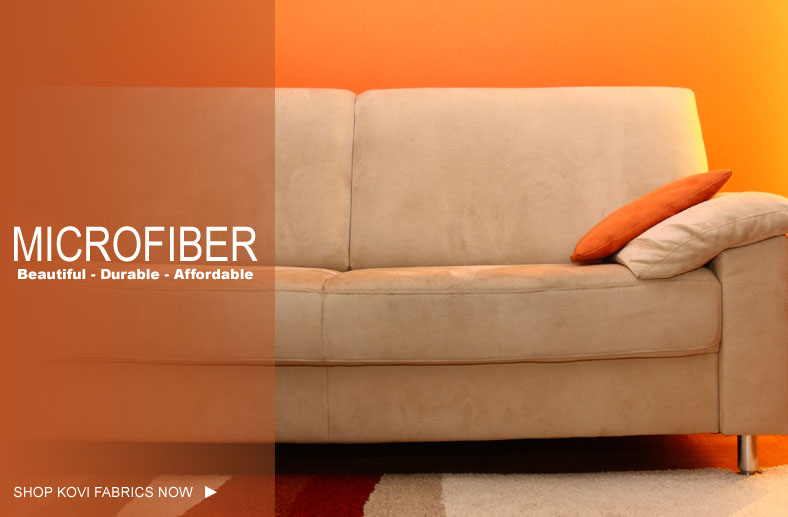 Clean Microfiber Upholstered Furniture
