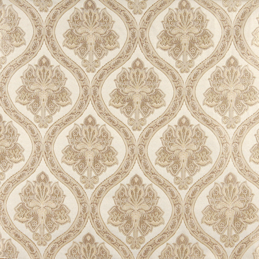 Regal Cream Beige On White Antique French Vintage Look