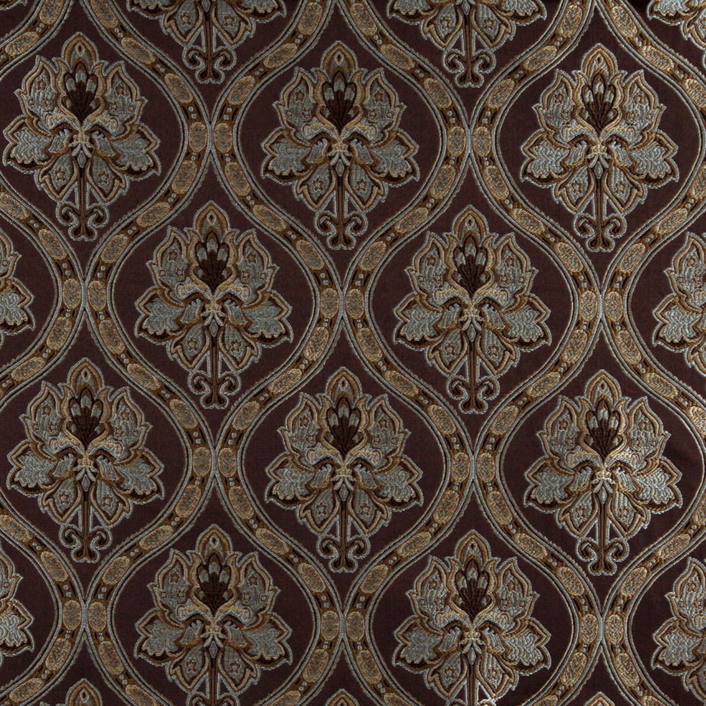 Regal Cocoa Beige On Brown Antique French Vintage Look