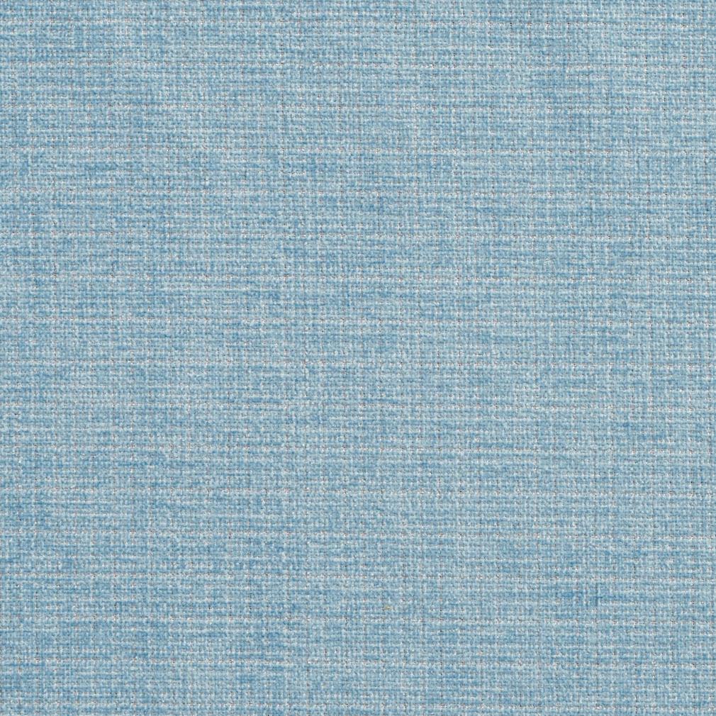 Light Blue Solid Tweed Chenille Upholstery Fabric
