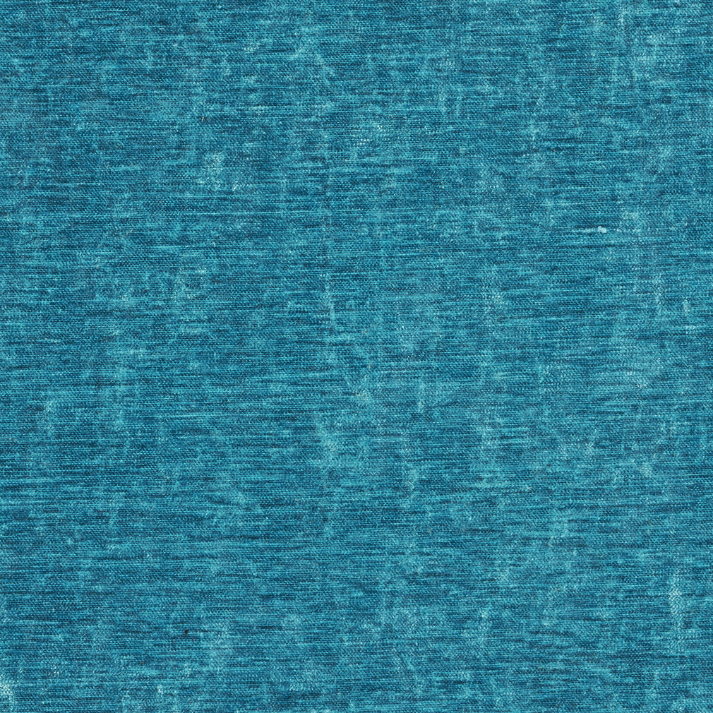 Aqua Shiny Contemporary Look Velvet Upholstery Fabric