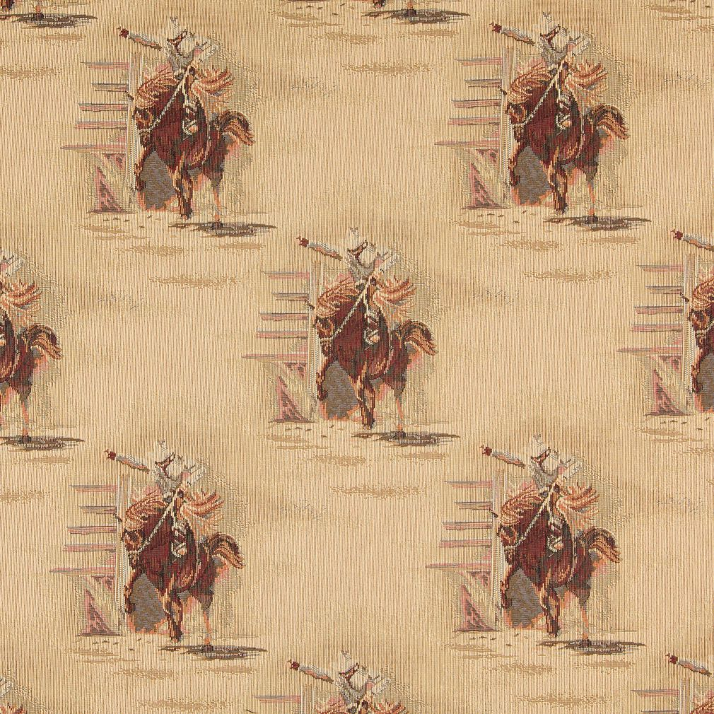 Rodeo Burgundy And Gold Horse And Cowboy Country Theme