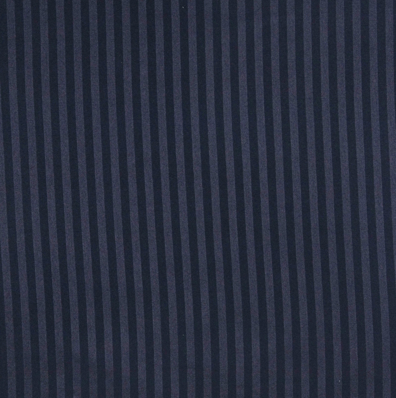 Navy Stripe Dark Blue Small Scale Damask Drapery And