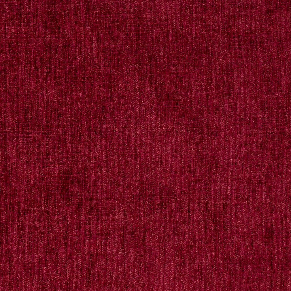 Wine Burgundy Weave Textured Chenille Upholstery Fabric
