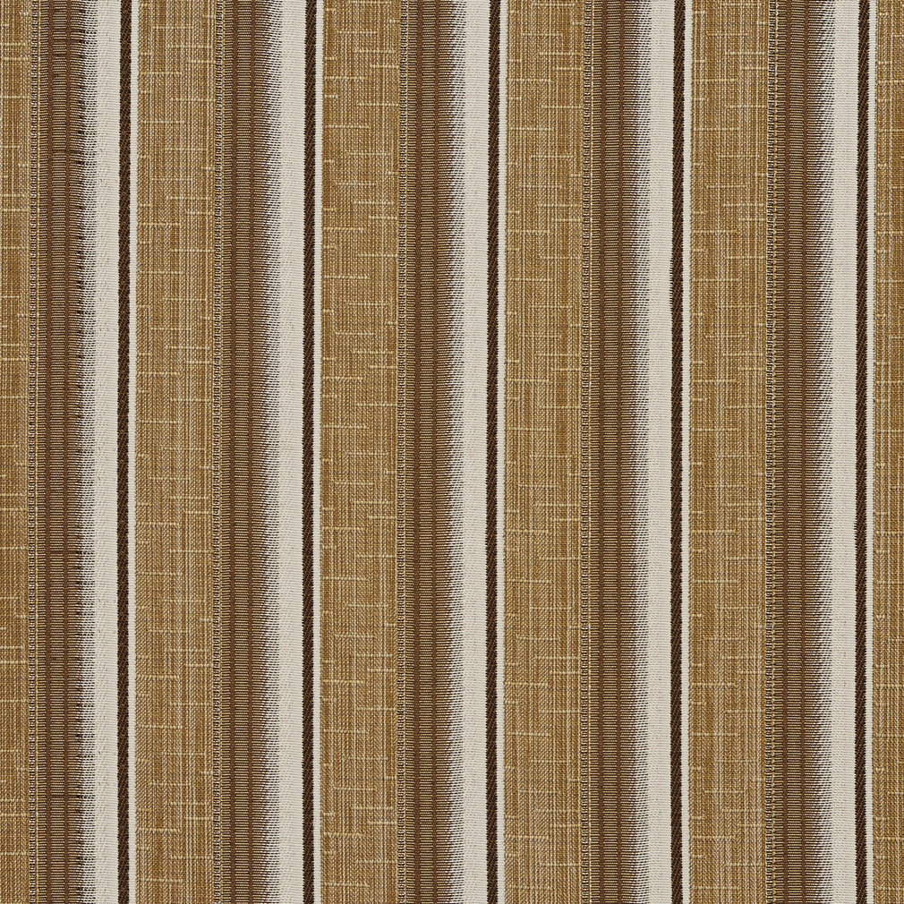 Sand Beige Small Stripe Damask Upholstery Fabric