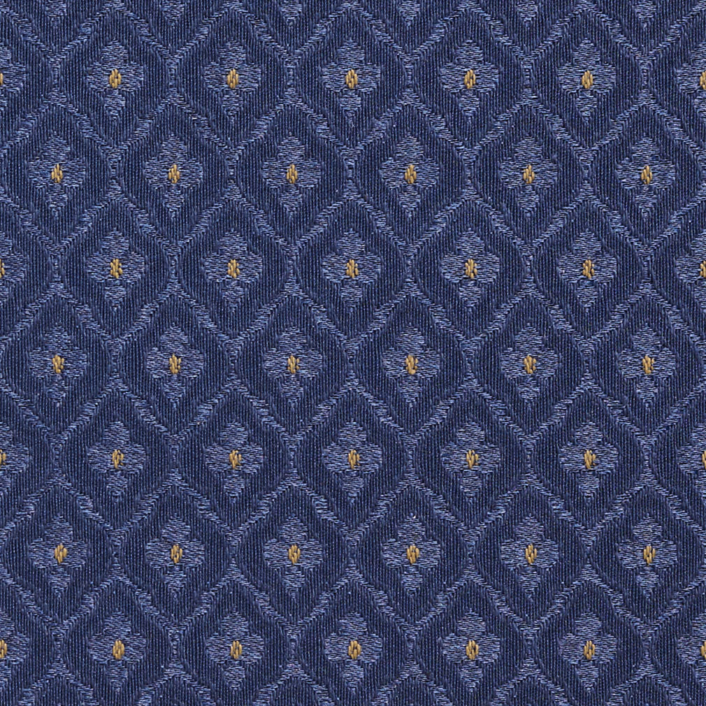 Cadet Blue Diamond Damask Upholstery Fabric