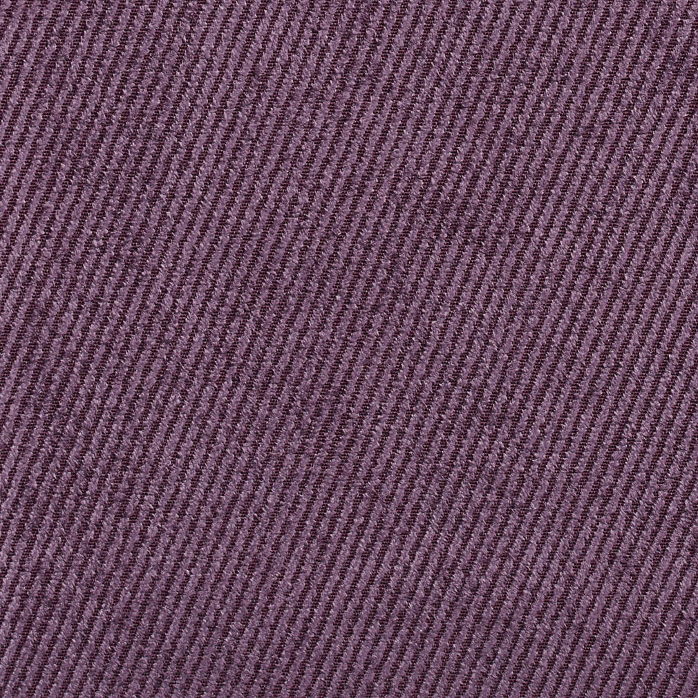 Plum Lilac Plain Denim Upholstery Fabric