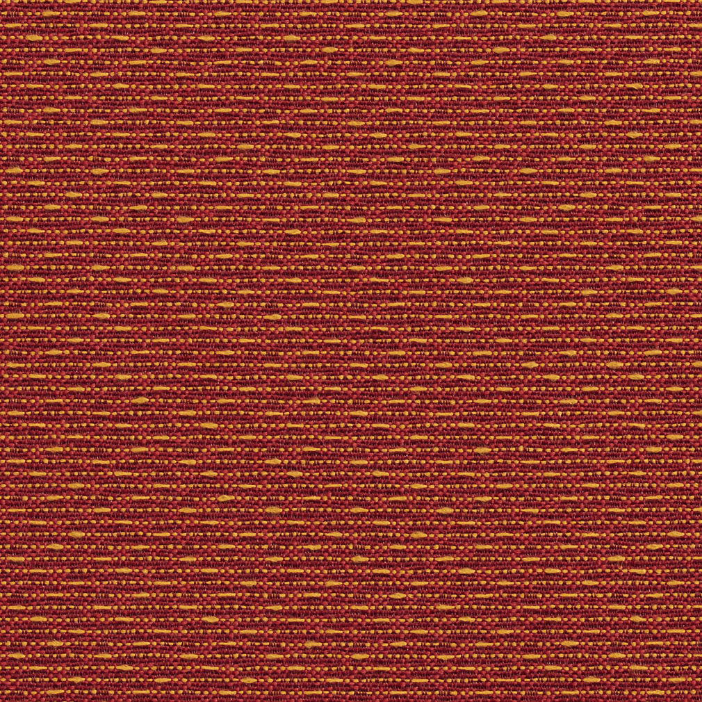 Spice Burgundy And Coral Small Scale Damask Upholstery Fabric