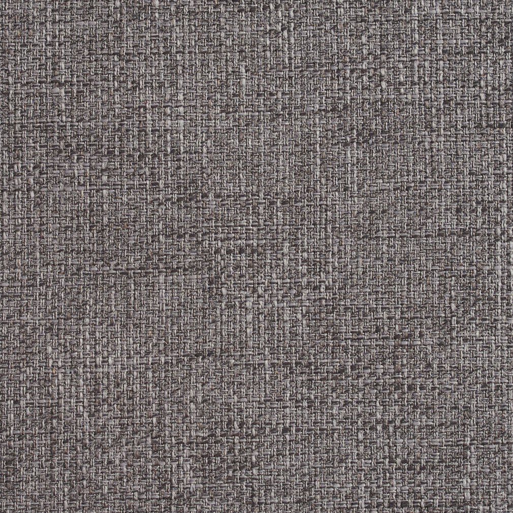 Charcoal Gray Plain Tweed Heavy Canvas Texture Upholstery