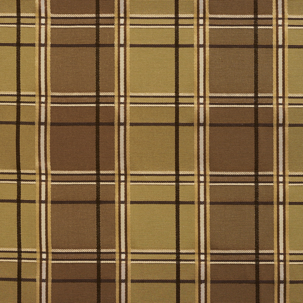 brown and gold plaid woven damask upholstery fabric. Black Bedroom Furniture Sets. Home Design Ideas