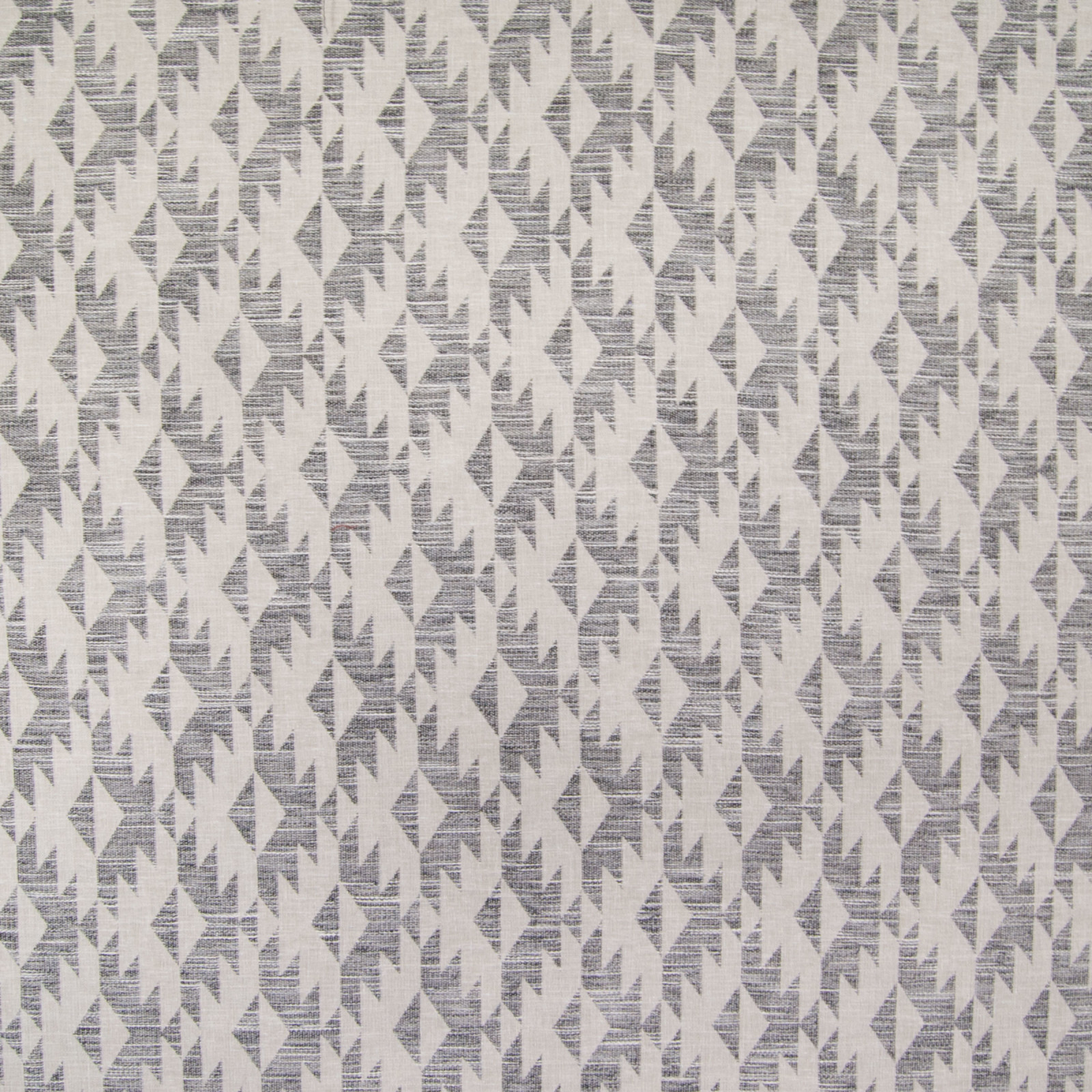 Slate Gray And Neutral Diamond Woven Upholstery Fabric