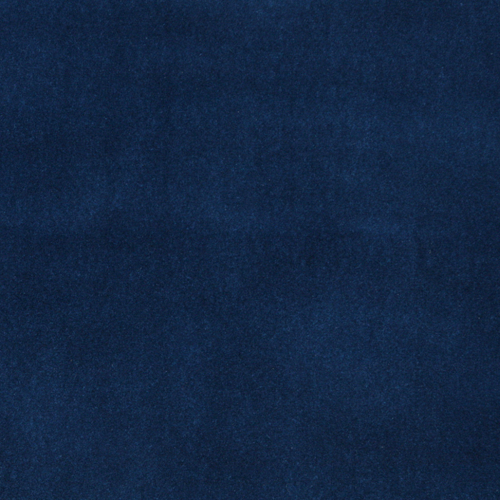 Royal Blue Metallic Shine Velvet Upholstery Fabric
