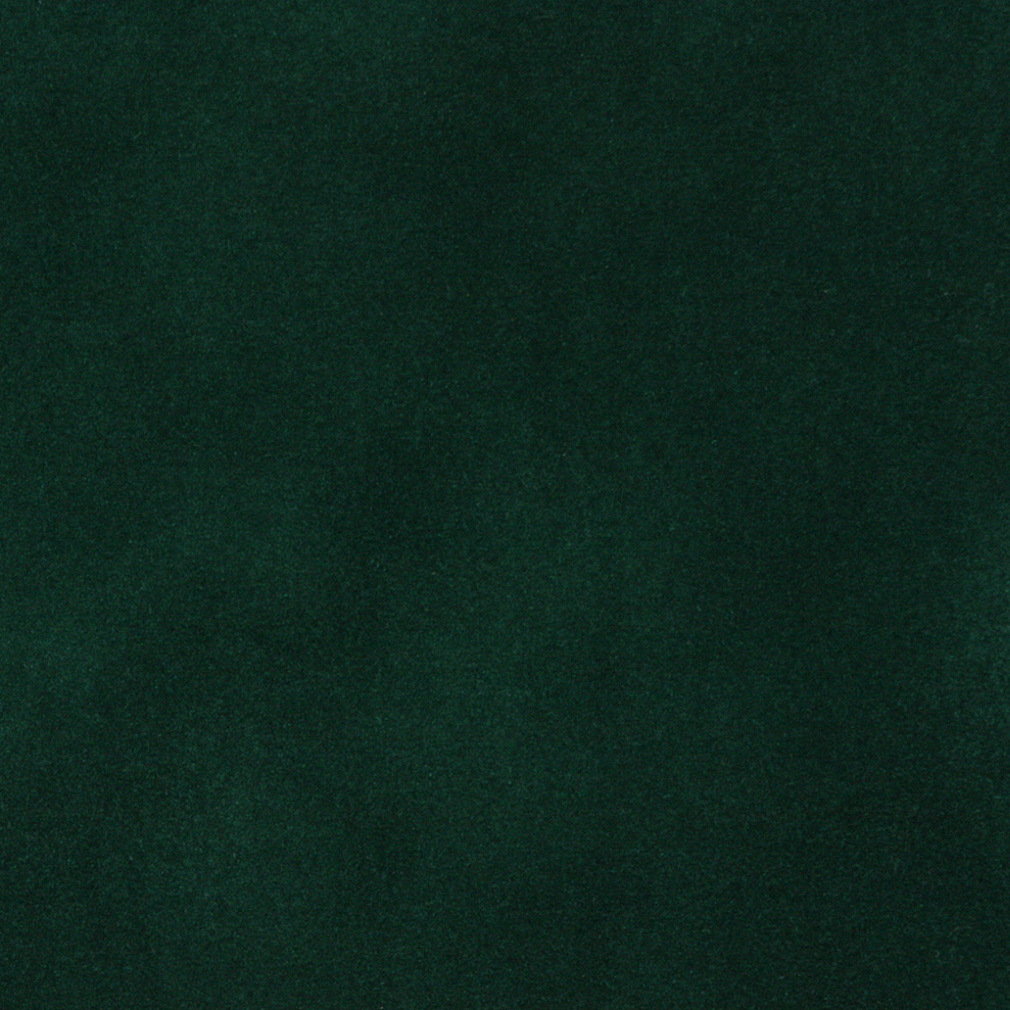 Emerald Dark Green Plain Velvet Upholstery Fabric