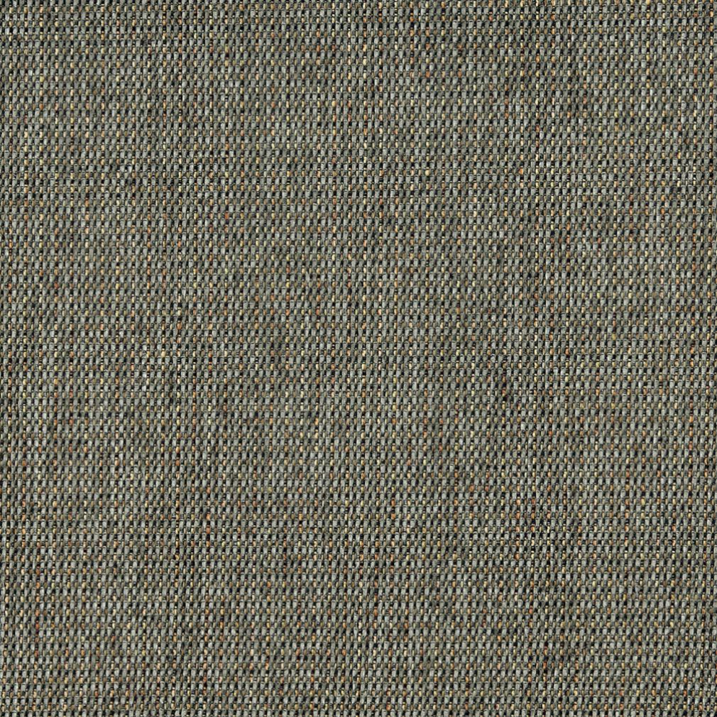 Jade Black And Gray Contemporary Chenille Basketweave Upholstery Fabric