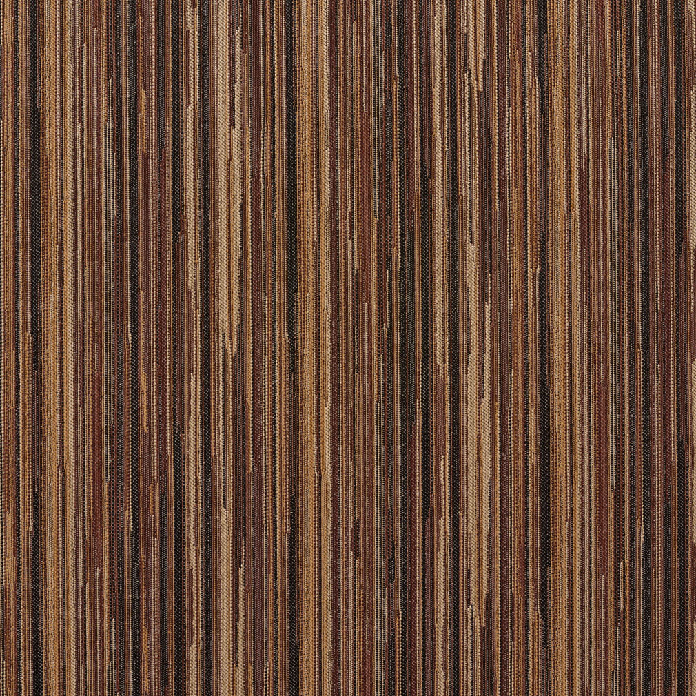 Cocoa Black And Brown Green Stripe Wood Contemporary