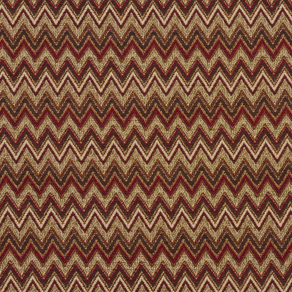 Beige And Brown Burgundy Southwestern Chevron Tapestry