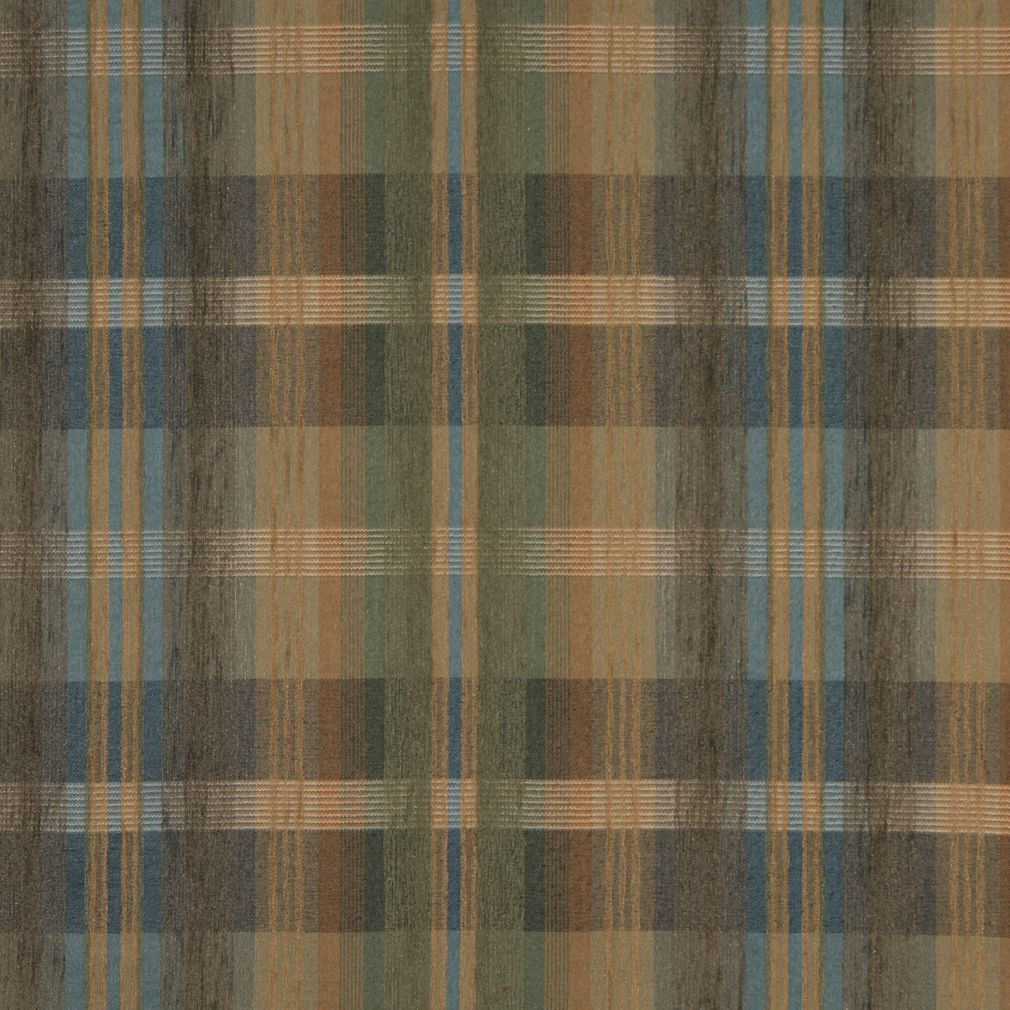 brown and coral plaid chenille upholstery fabric. Black Bedroom Furniture Sets. Home Design Ideas