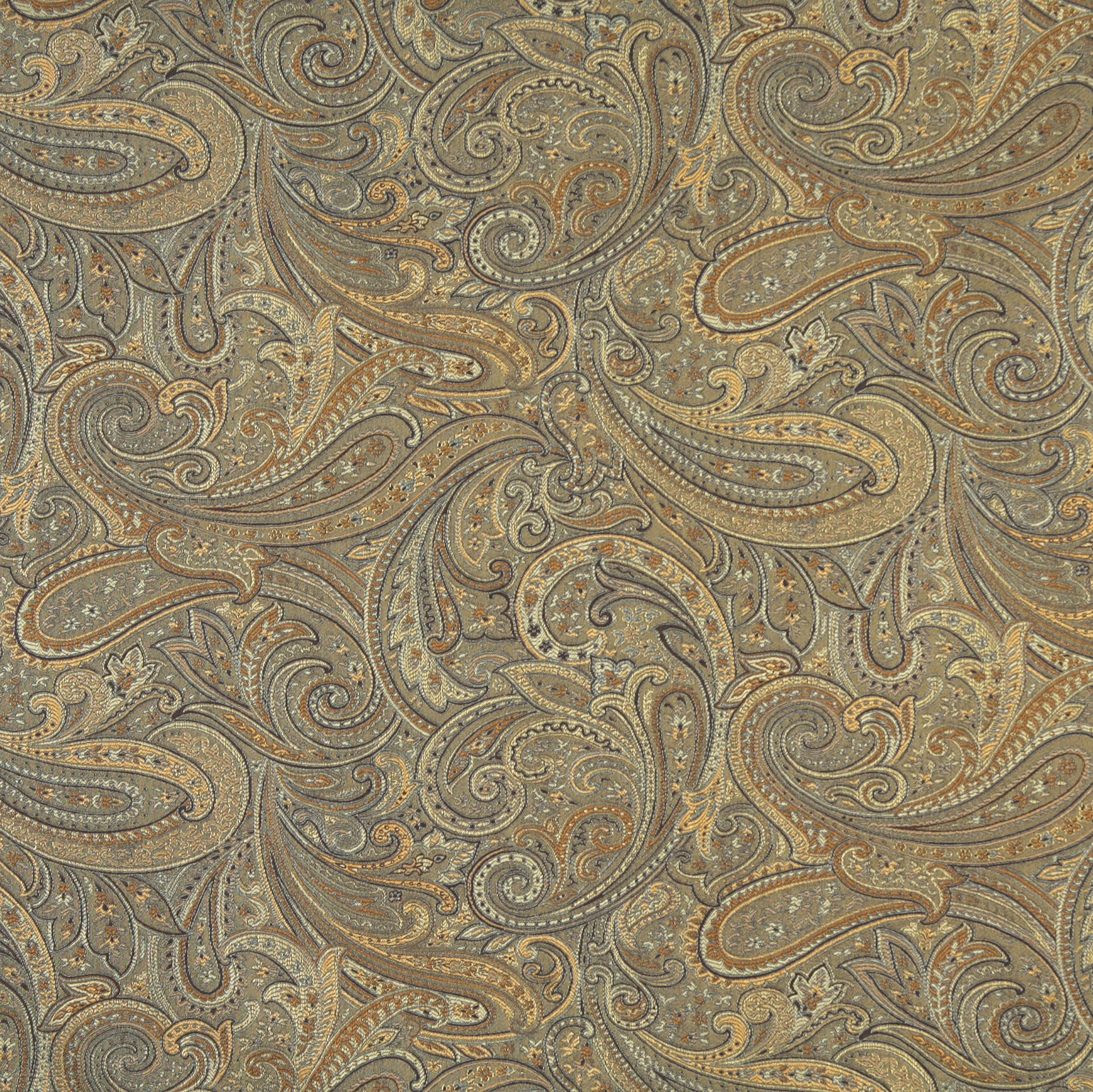 jade beige and brown abstract paisley damask upholstery fabric. Black Bedroom Furniture Sets. Home Design Ideas