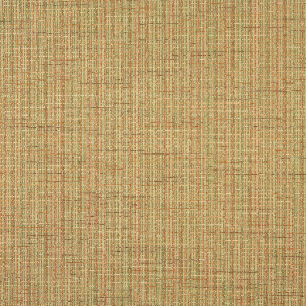 Beige Gold And Light Green Small Scale Tweed Upholstery Fabric