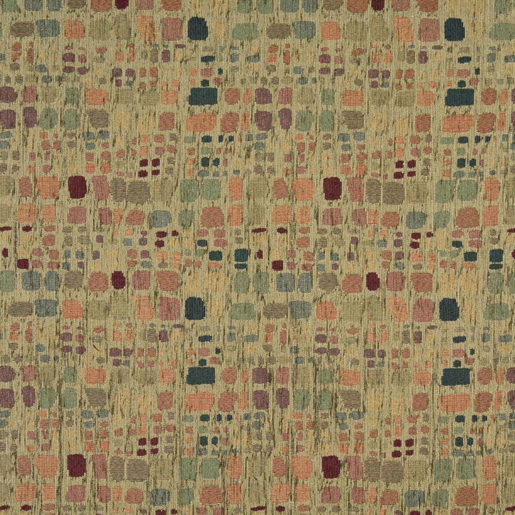 Suede Upholstery Fabric >> Cypress Green Retro Retro Color Palette Abstract Chenille Upholstery Fabric