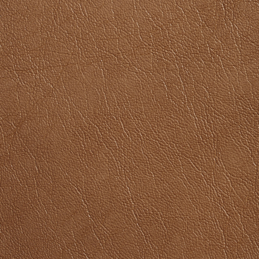 Caramel Beige Plain Breathable Leather Texture Upholstery