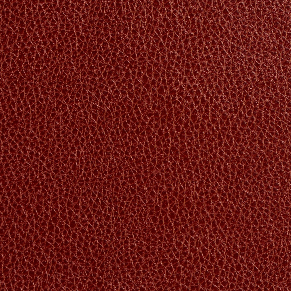 Paprika Burgundy Red Leather Texture Vinyl Upholstery Fabric