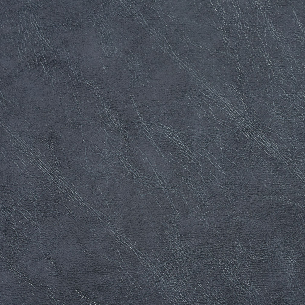 Slate Grey Distressed Leather Grain Vinyl Upholstery Fabric