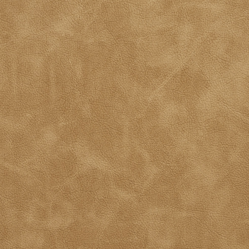 Beige Distressed Leather Grain Vinyl Upholstery Fabric
