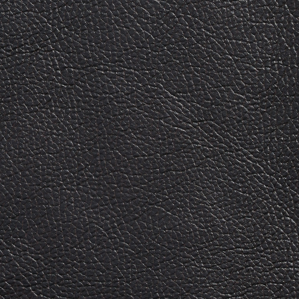 Charcoal Brown Plain Automotive Animal Hide Texture Vinyl