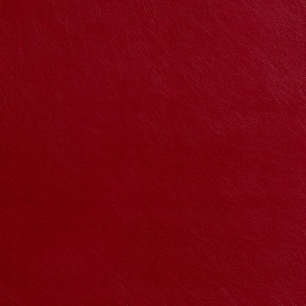 Chili red animal hide look leather grain soft vinyl for Red leather fabric