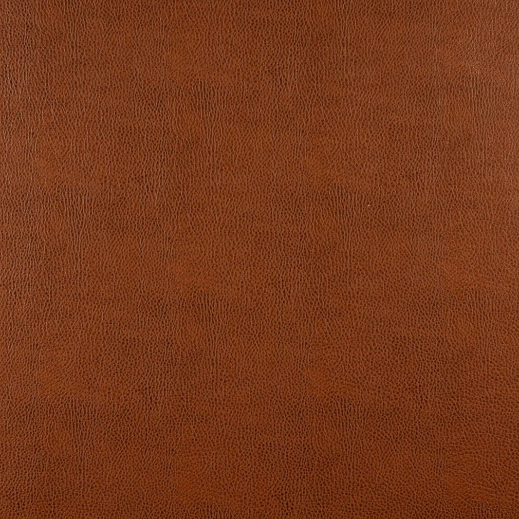 Chestnut Brown Animal Hide Texture Plain Recycled Leather