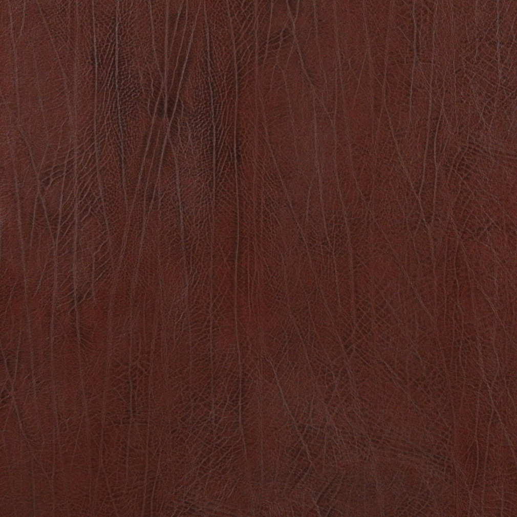 Sienna Brown Imitation Heavy Faux Leather Grain Soft Vinyl