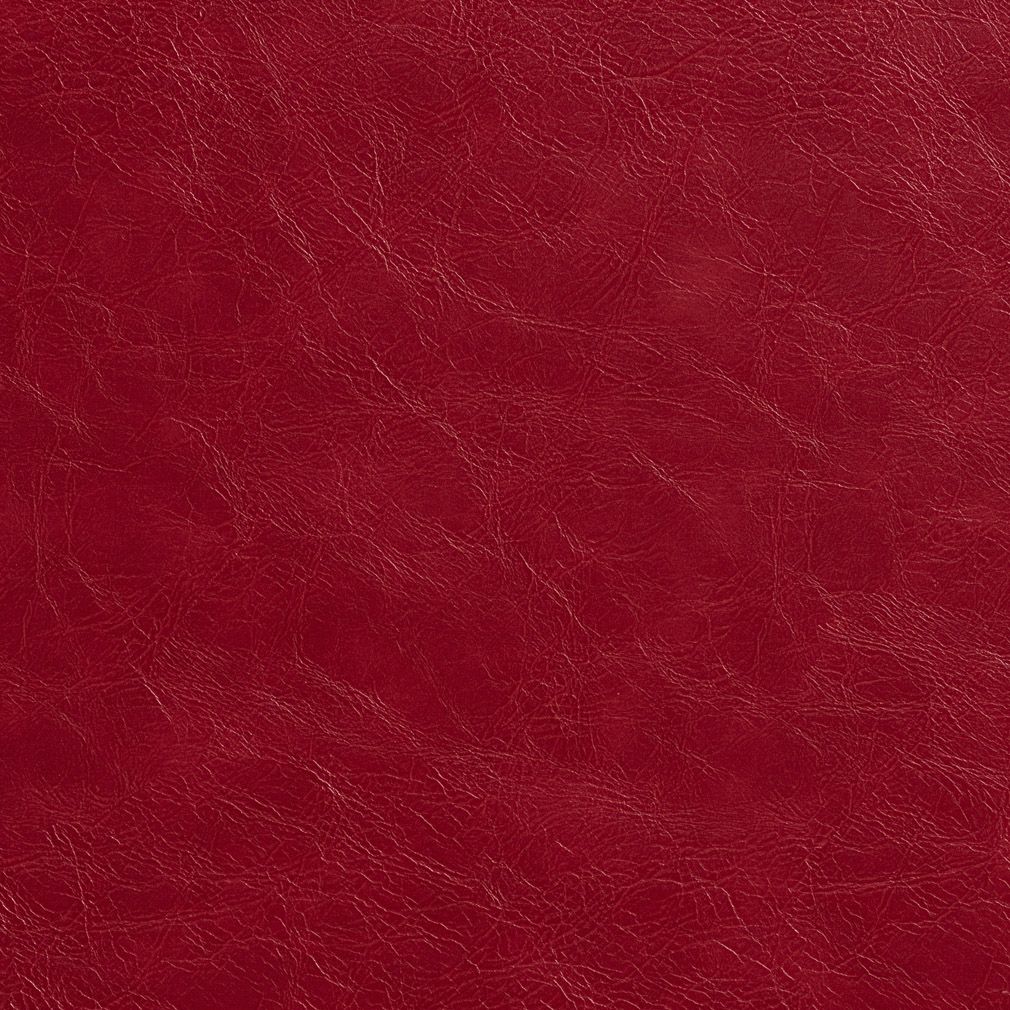 Salsa red distressed leather hide look soft vinyl for Red leather fabric