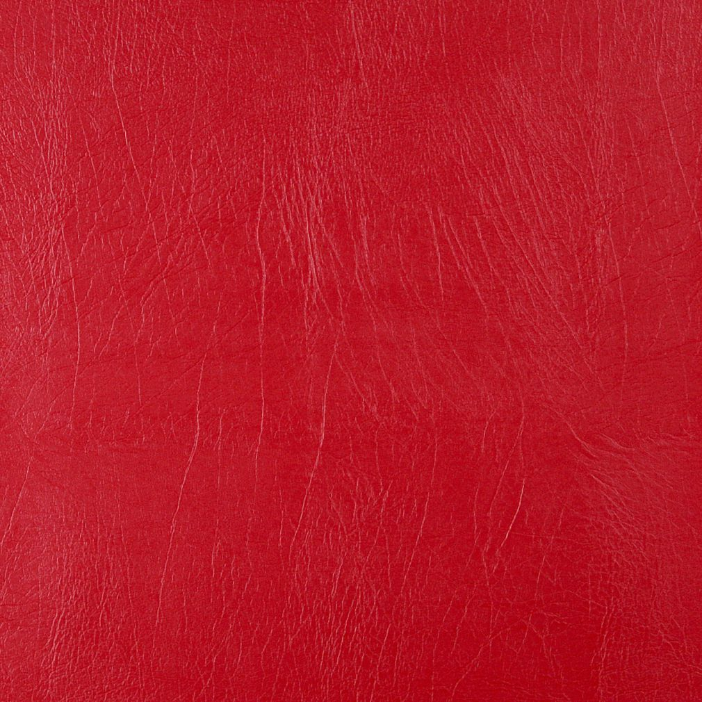 Bright poppy red distressed solid leather hide grain for Red leather fabric