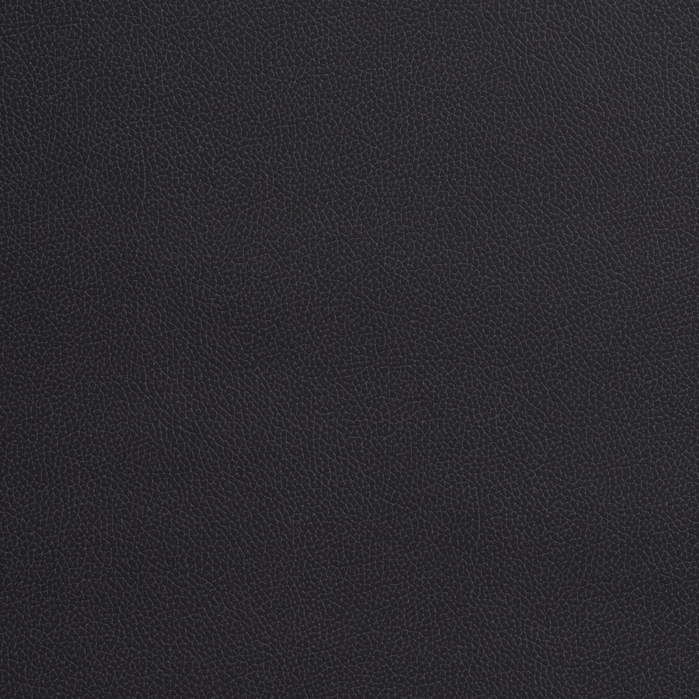 Black Soft Leather Grain Animal Hide Texture Vinyl