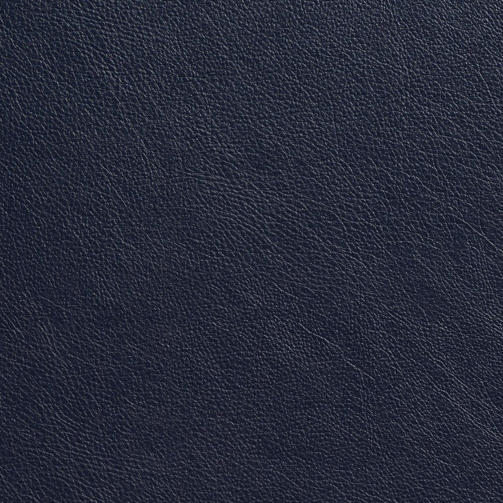Navy Blue Fine Leather Grain Animal Hide Texture Vinyl