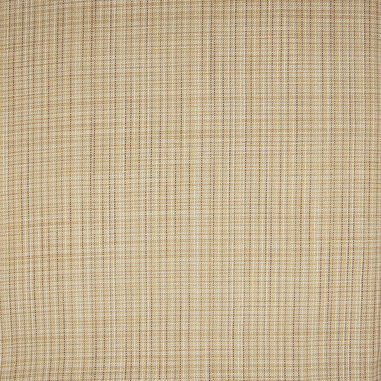 Birch Neutral And Beige Plaid Cotton Upholstery Fabric