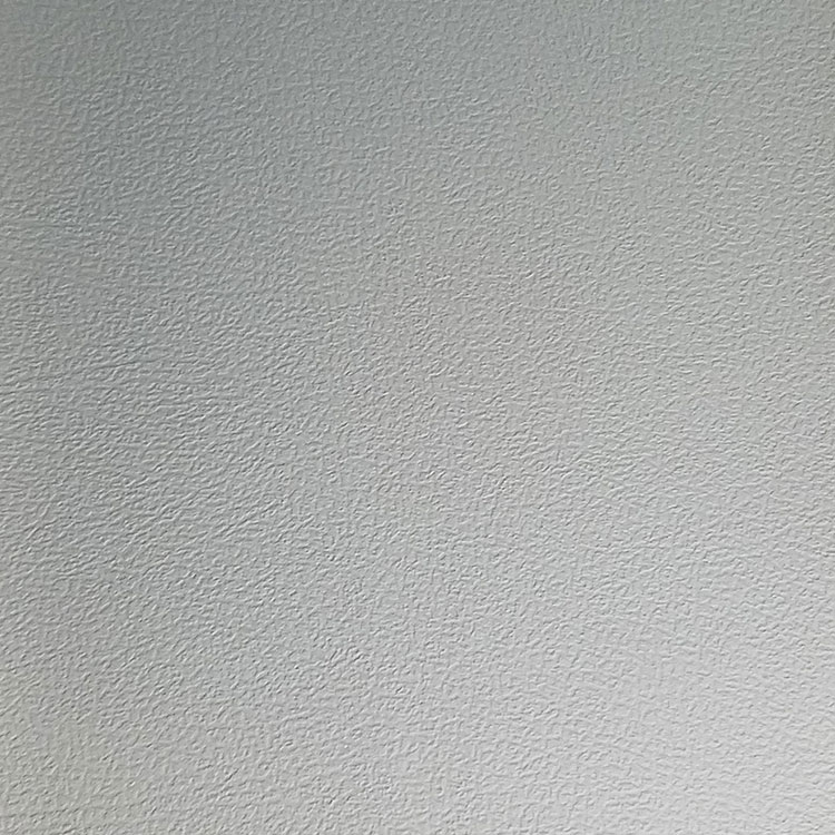 Valencia gray gray leather grain vinyl upholstery fabric for Sheer galaxy fabric