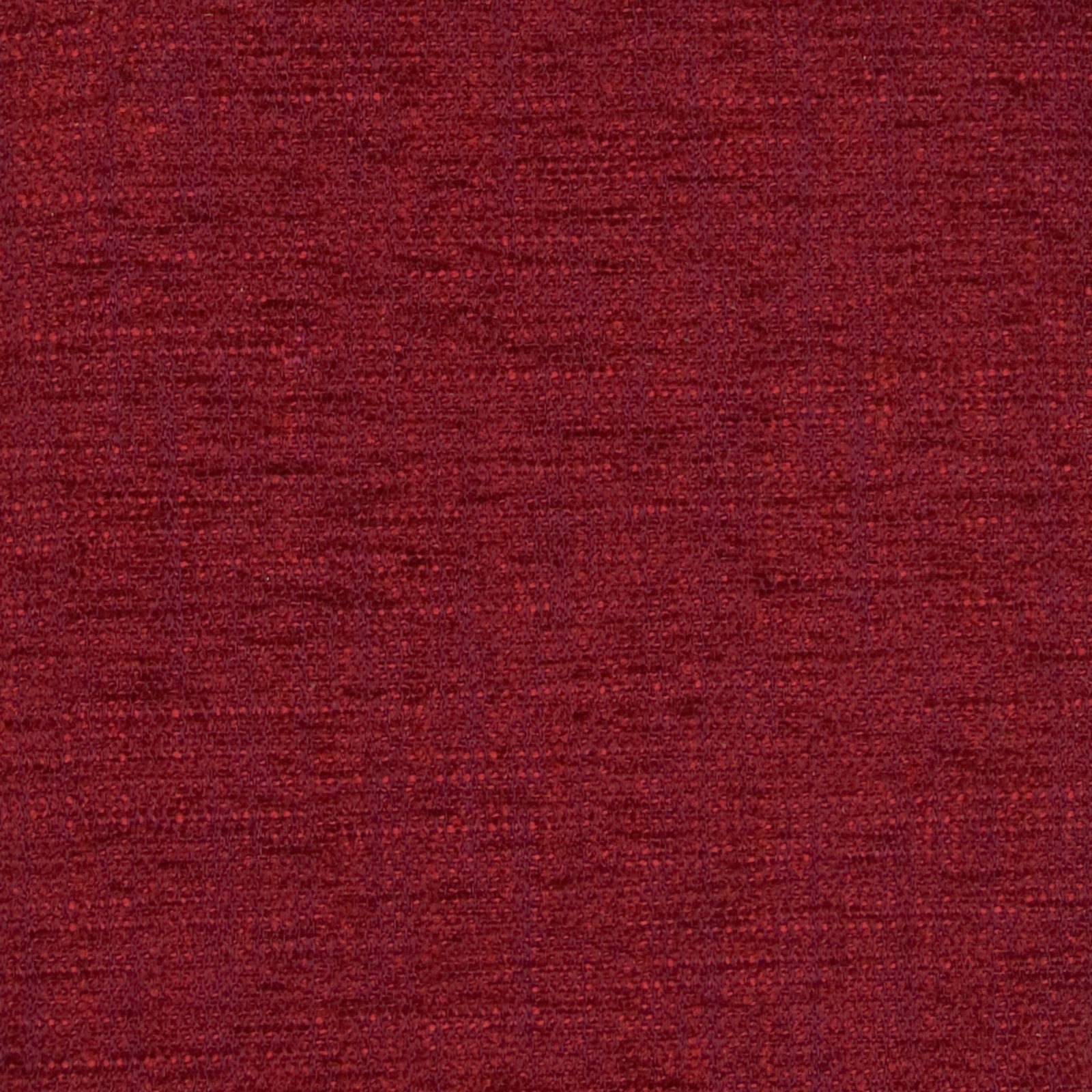 Cranberry Red Solid Chenille Upholstery Fabric