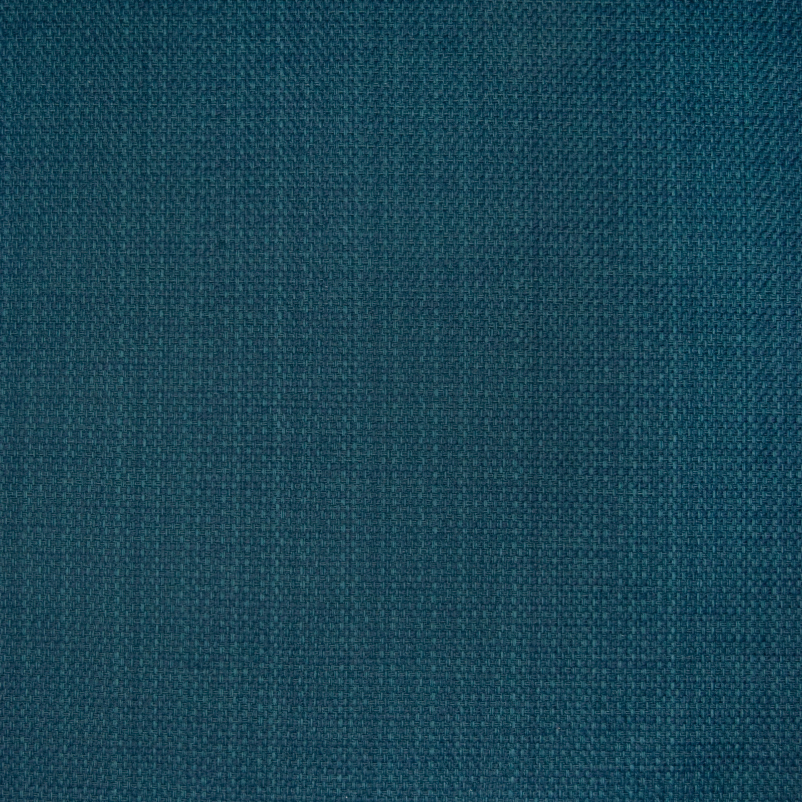 Deep Sea Blue And Teal Solid Texture Upholstery Fabric