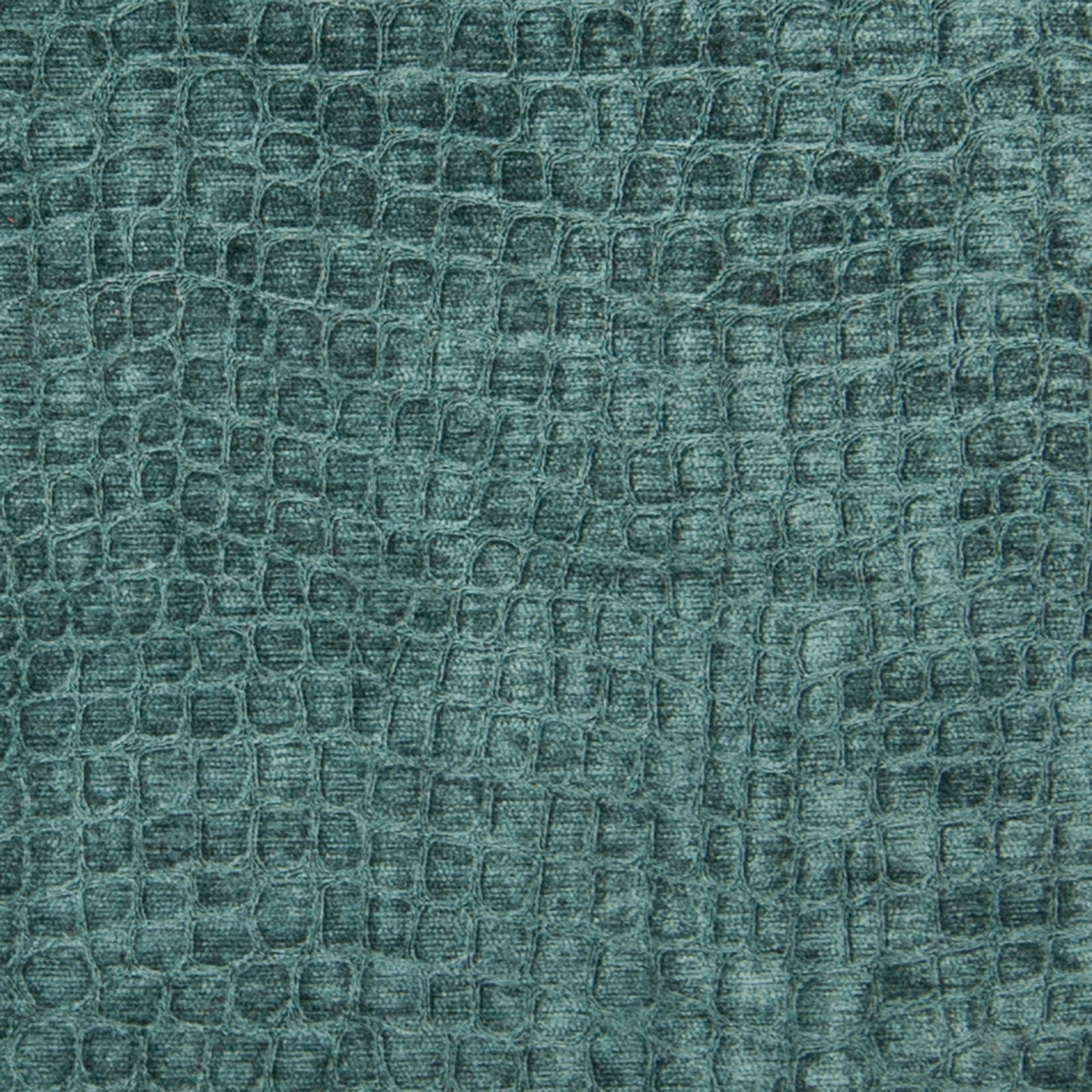 Teal Teal And Blue Skin Chenille Upholstery Fabric