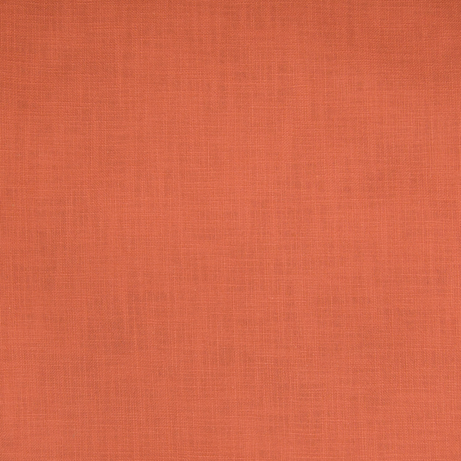 Salmon Pink And Red Solid Cotton Upholstery Fabric