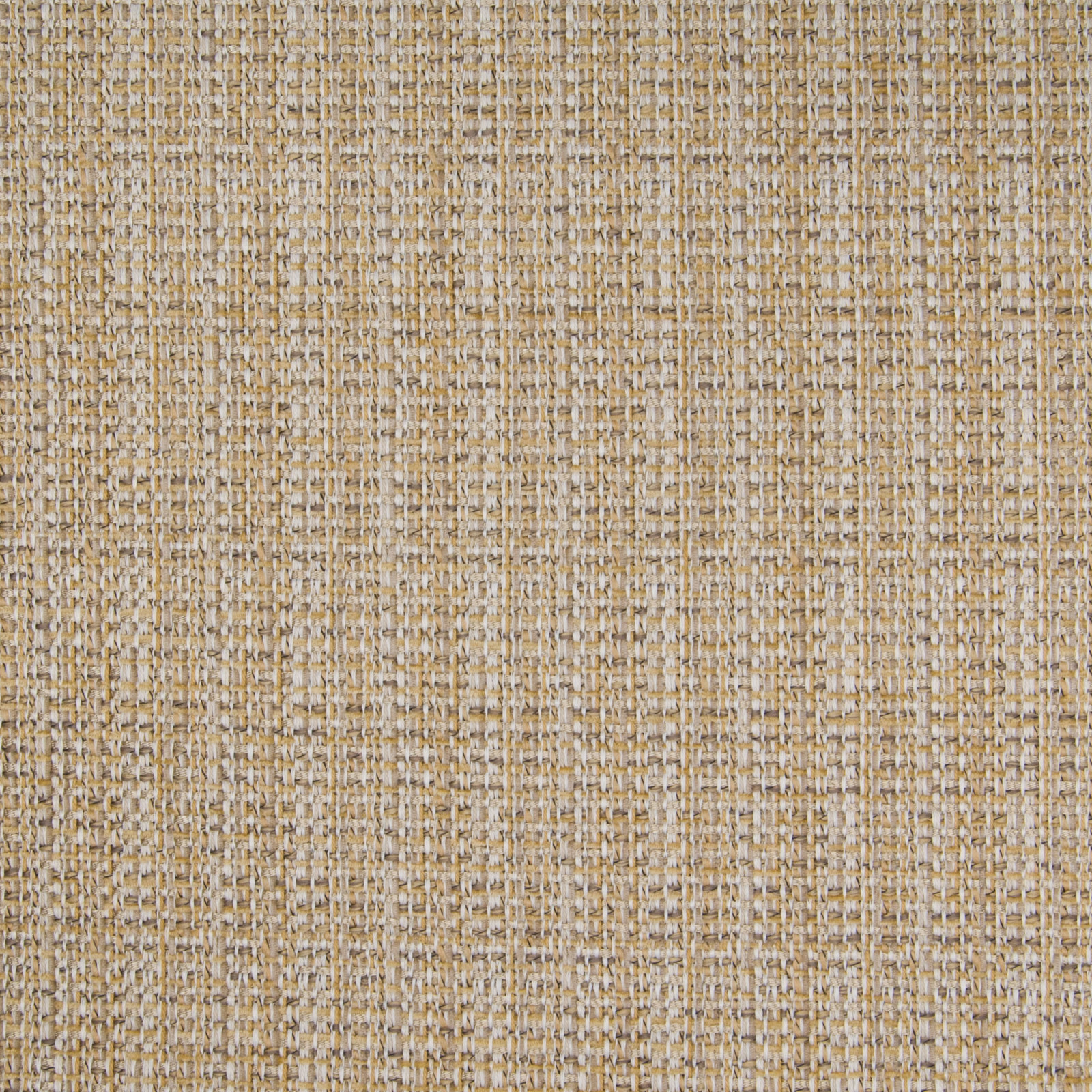 Sisal Gold And Neutral Solid Woven Upholstery Fabric