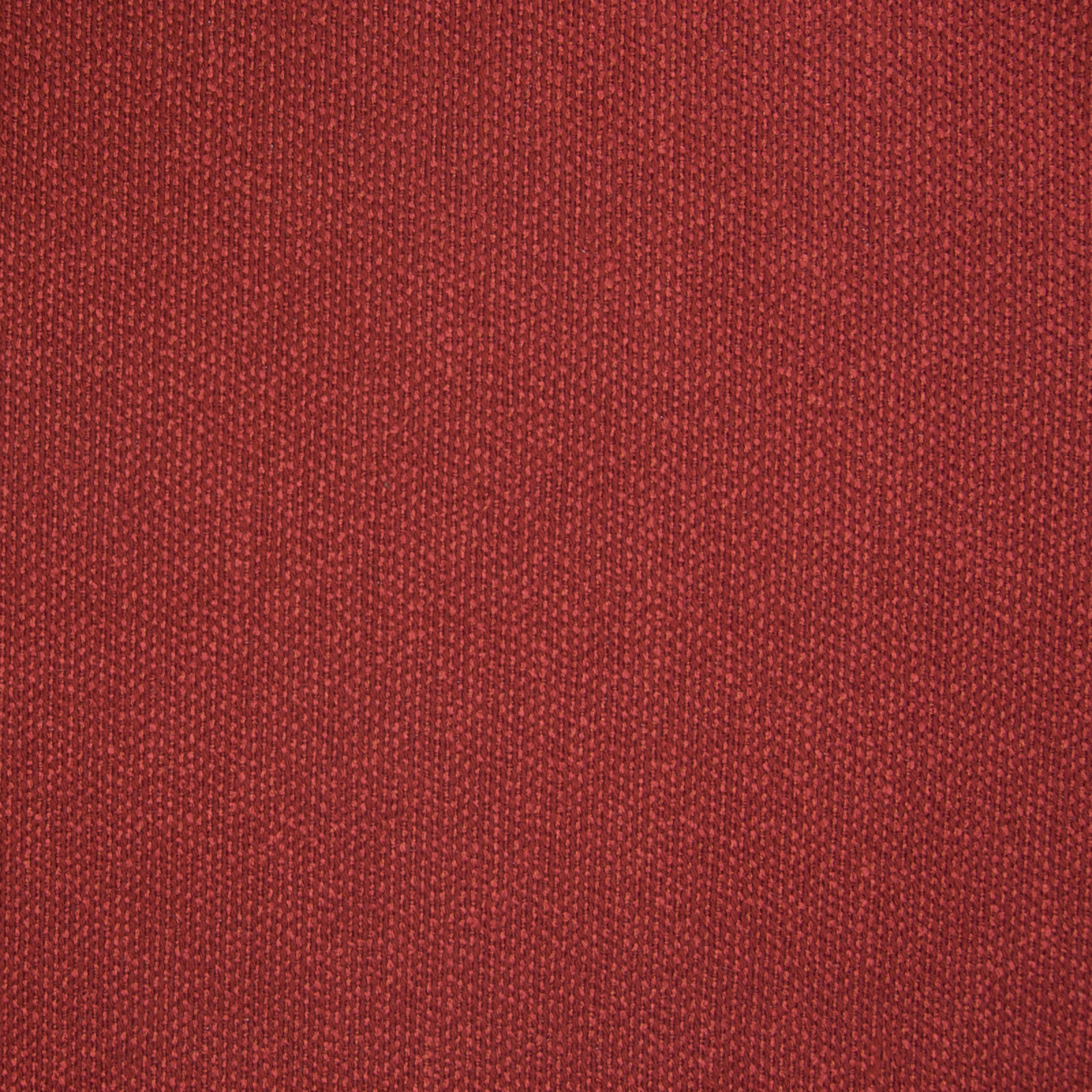 Scarlet Red Solid Woven Upholstery Fabric