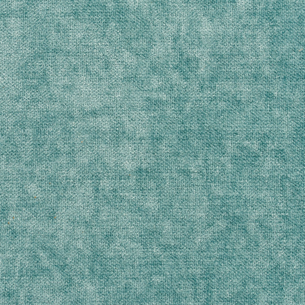 Glacier Aqua Or Teal Solid Chenille Upholstery Fabric