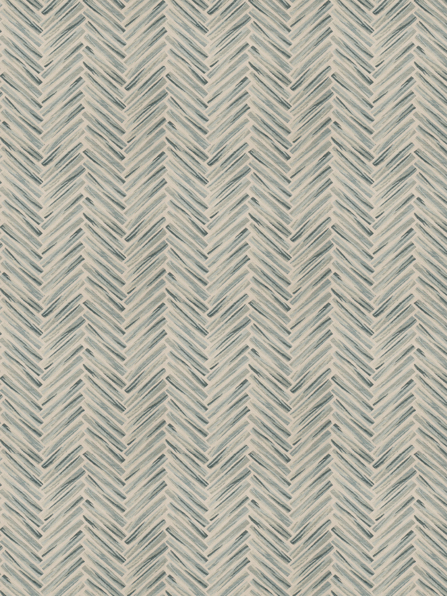 Teal Taupe And Beige Geometric Wovens Upholstery Fabric