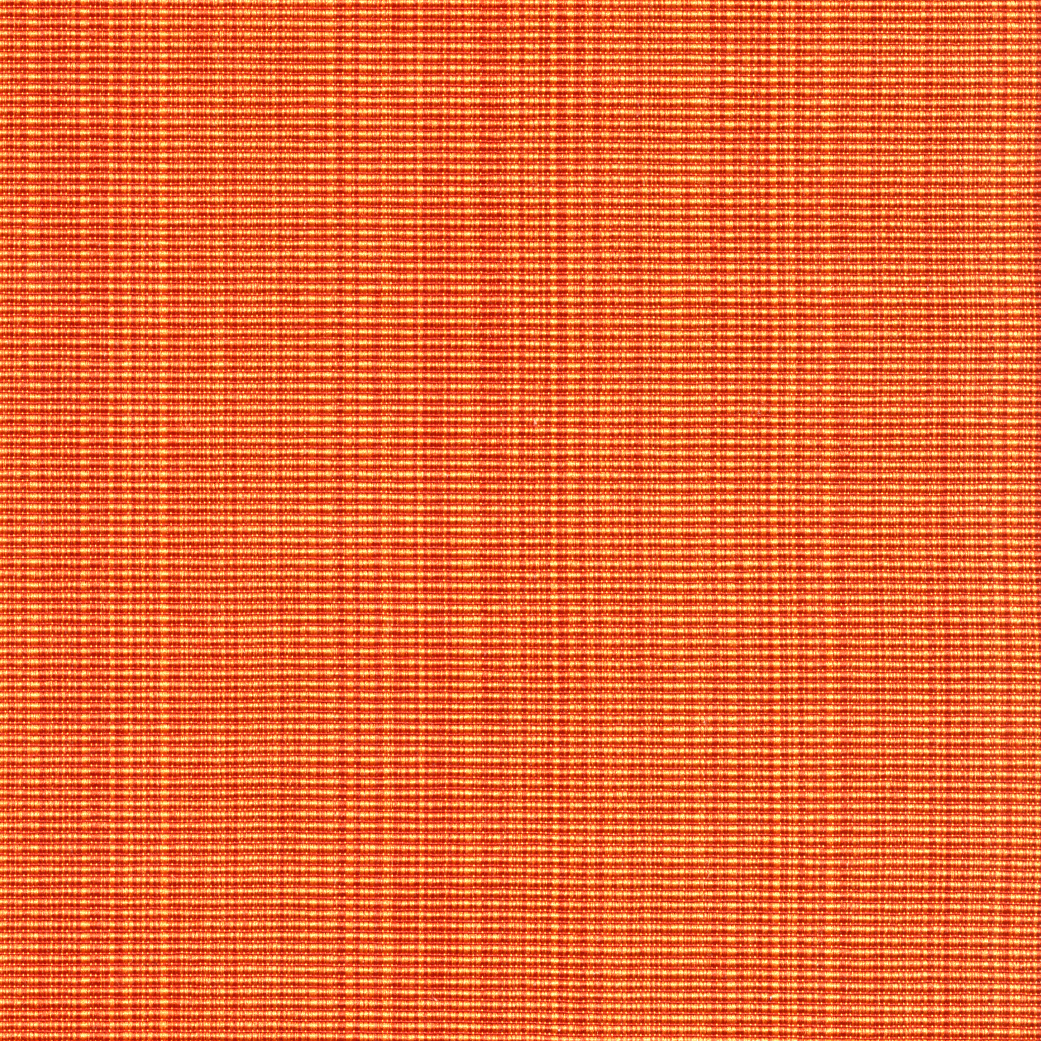 Grosgrain Hems Orange Muted Woven Upholstery Fabric