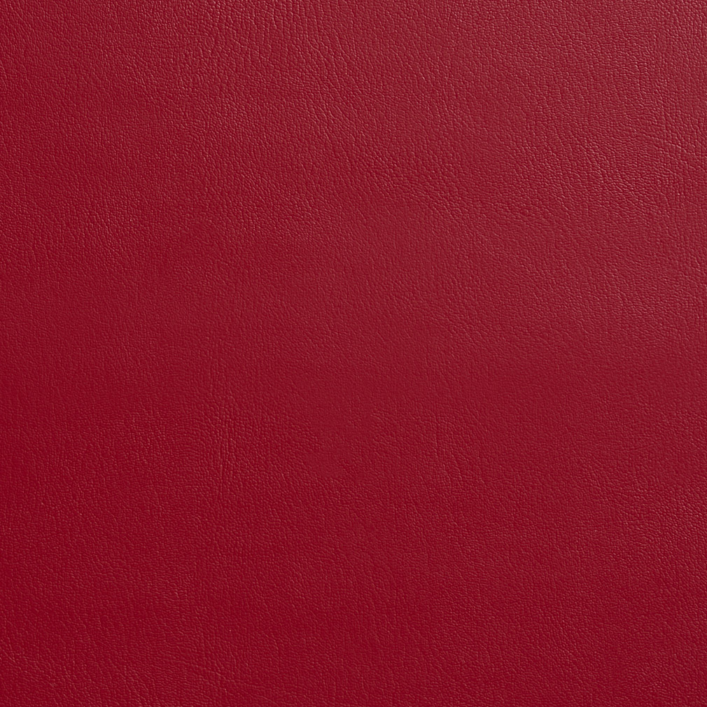 Red red leather grain vinyl upholstery fabric for Red leather fabric