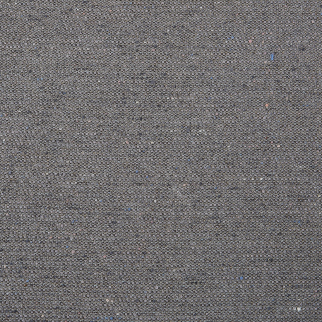 Charcoal Wool Grey Solid Wool Upholstery Fabric